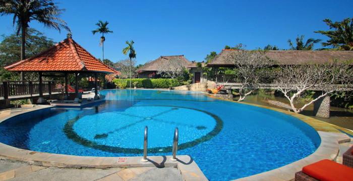 Santi Mandala Villa & Spa in Bali - Pool