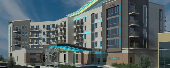 Rendering of the Aloft Ocean City