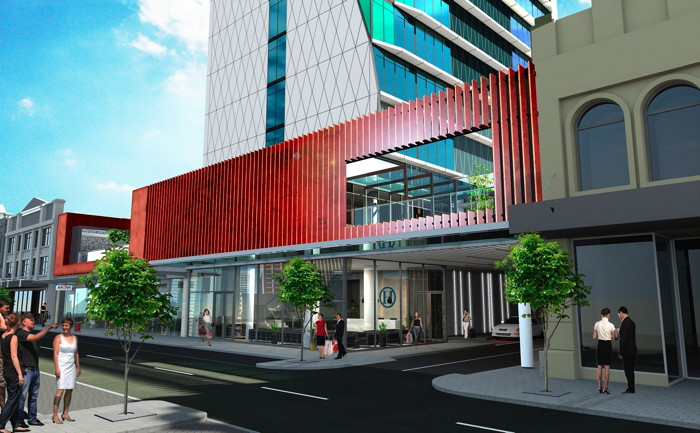 Rendering of the Art Series Hotel Perth