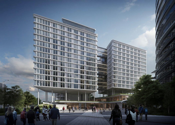 Rendering of the Andaz Vienna Am Belvedere Hotel