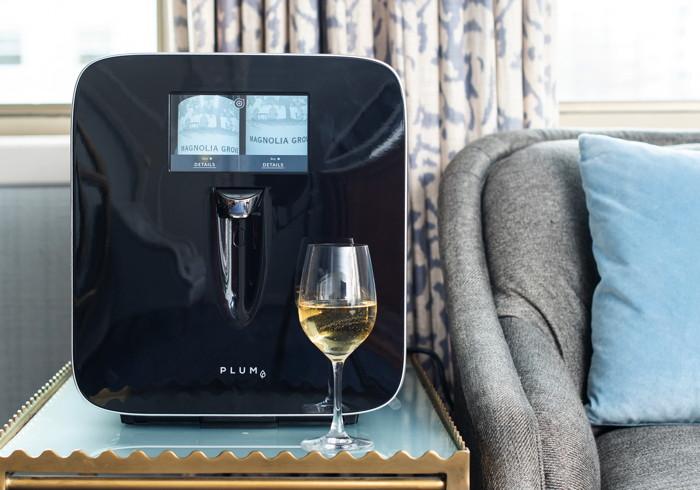 Plum Wine-On-Demand dispenser