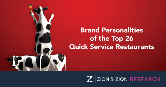 Cover from Brand Personalities of the Top 26 Quick Service Restaurants Study