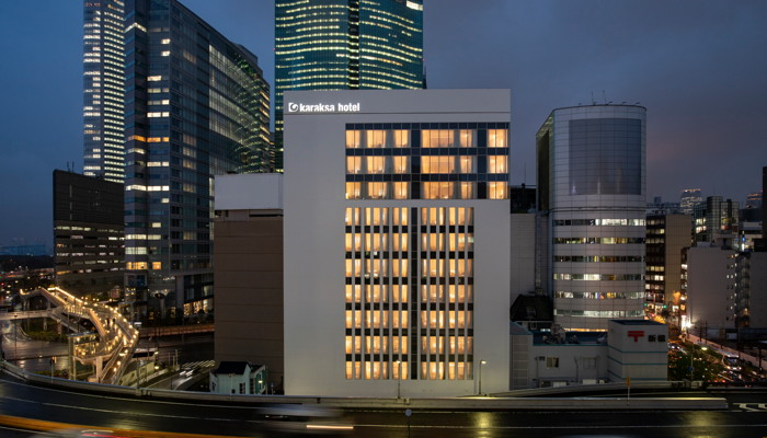 Rendering of the Karaksa hotel premier Tokyo Ginza