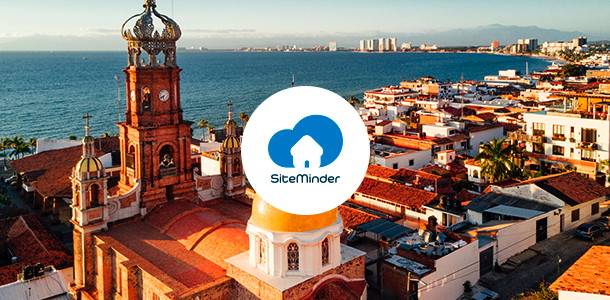 Unnamed Mexican destination and SiteMinder logo