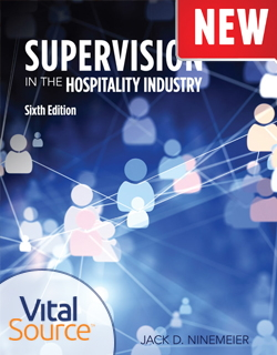 Supervision in the Hospitality Industry - Cover