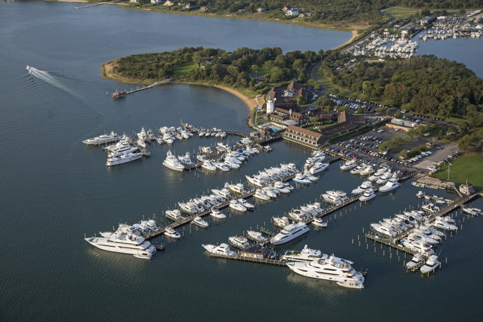 Gurney's Star Island Resort & Marina - Aerial view