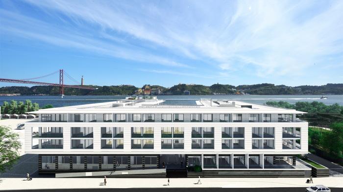 Rendering of the Hyatt Regency Lisbon