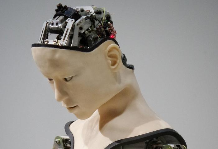 human robot illustration - Photo by Franck V. on Unsplash