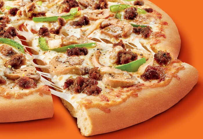 Little Caesars to Offer a Plant-Based Sausage Pizza