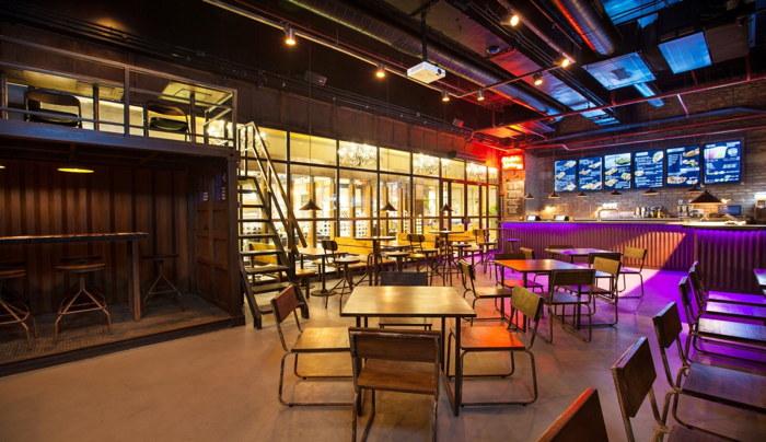 Taco Bell restaurant interior
