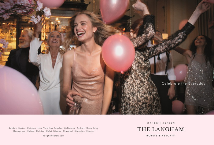 Image from Langham Hotels & Resorts Brand Campaign