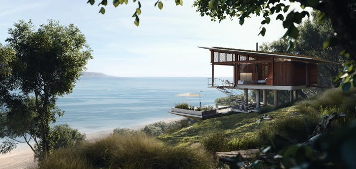 The view from one of the standard guest villas at Six Senses Papagayo