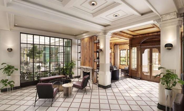 Rendering of the Kimpton Hotels & Restaurants in Nebraska - Lobby