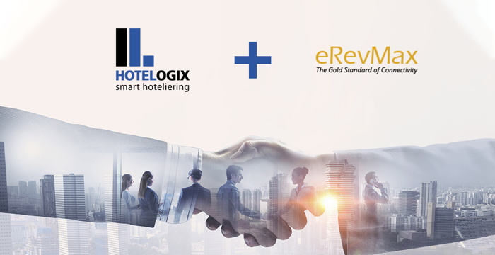 Hotelogix and eRevMax logos