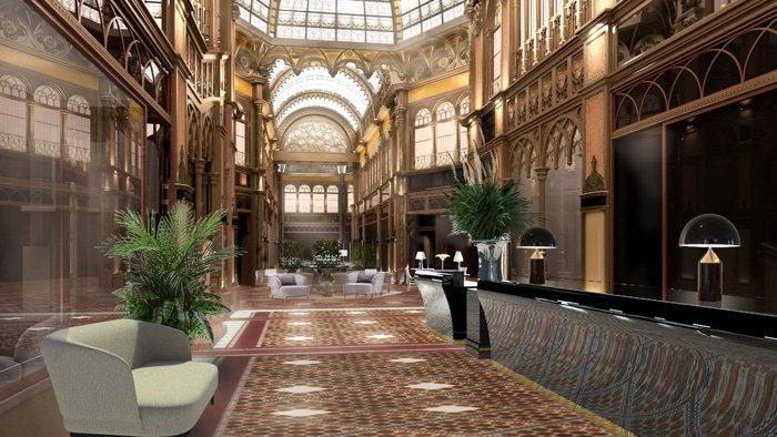 Párisi Udvar Hotel Budapest - Lobby