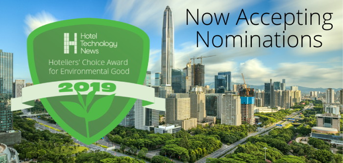 Hotel Technology News Announces the Launch of the Hoteliers' Choice Award for Environmental Good