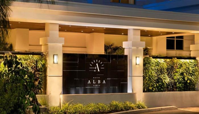 Hotel Alba Tampa - Entrance