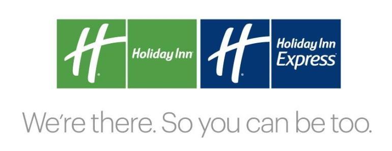 Holiday Inn and Holiday Inn Express logos