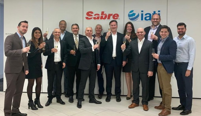 Image from Sabre IATI signing ceremony