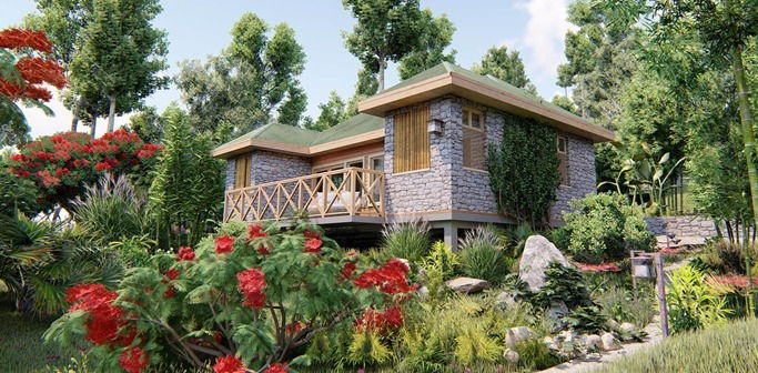Jungle Bay Villa