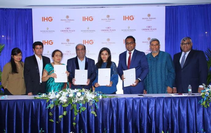Image from IHG India signing ceremony