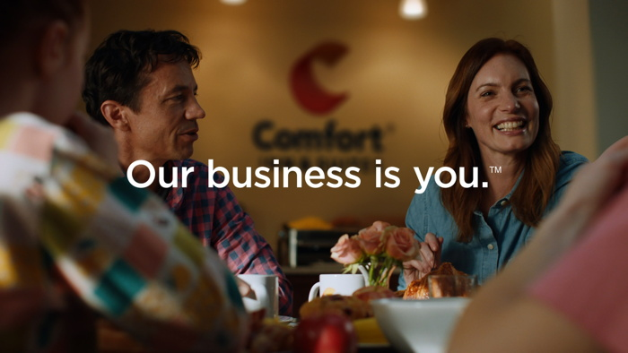 Image from 'Our Business is You' advertising campaign