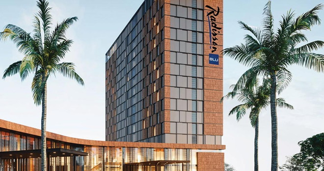 Rendering of the Radisson Blu Hotel & Conference Center Niamey in Niger