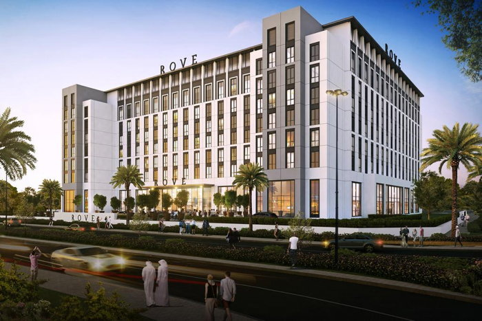 Rendering of the Rove At The Park Hotel
