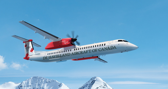 De Havilland Aircraft of Canada Delivers First Dash 8-400 Aircraft