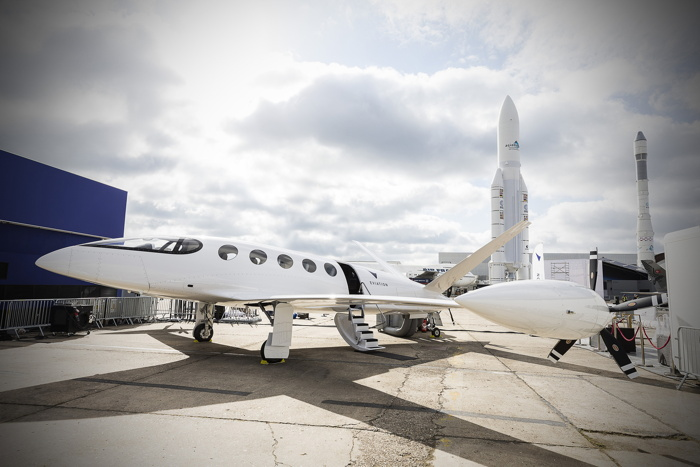 In Paris, Eviation Christens a New Era of All-Electric Aviation with the Debut of its Commercial-Scale Alice Plane