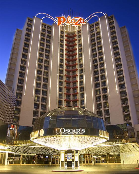 Plaza Hotel & Casino in Las Vegas - Exterior