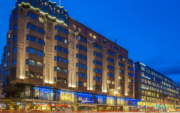 Radisson Blu Royal Viking Hotel - Exterior