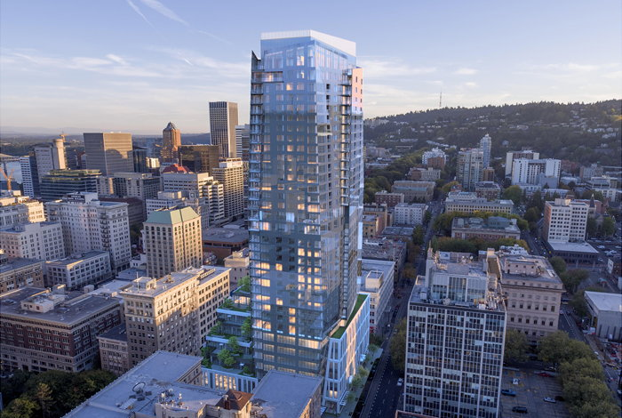 Ritz-Carlton Portland Rendering by GBD Architects