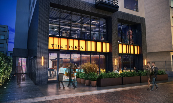 Rendering of the The Lively Osaka Honmachi Hotel