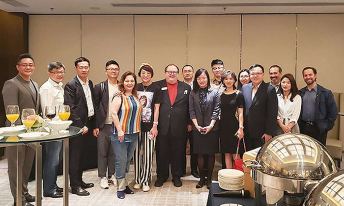 Members form the HFTP Shanghai Chapter