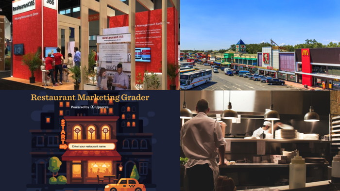 A collage of photos from Restaurant Technology News