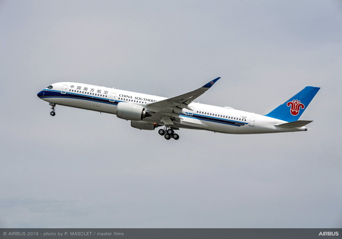 China Southern Airlines Takes Delivery of Its First Airbus A350-900