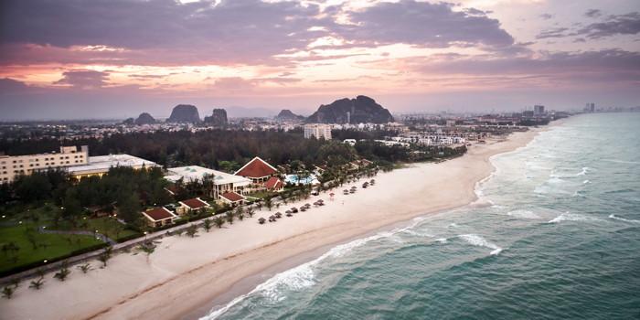 Unnamed beach destination in Vietnam