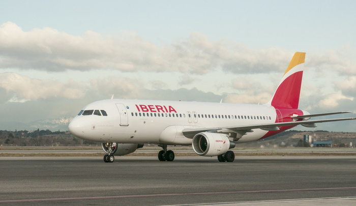 An Iberia Airlines A319