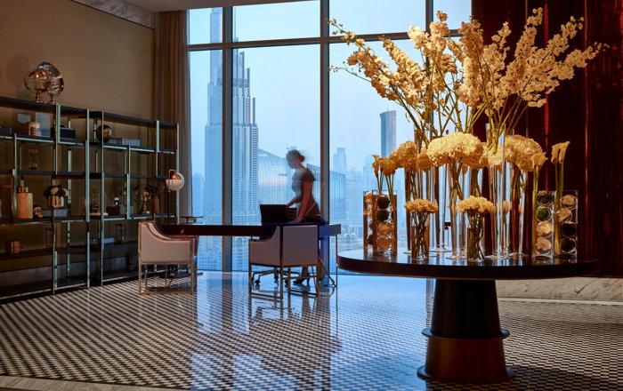Waldorf Astoria Dubai International Financial Centre Hotel - Lobby