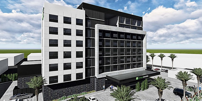 Rendering of the Holiday Inn Express & Suites Ensenada Centro Hotel