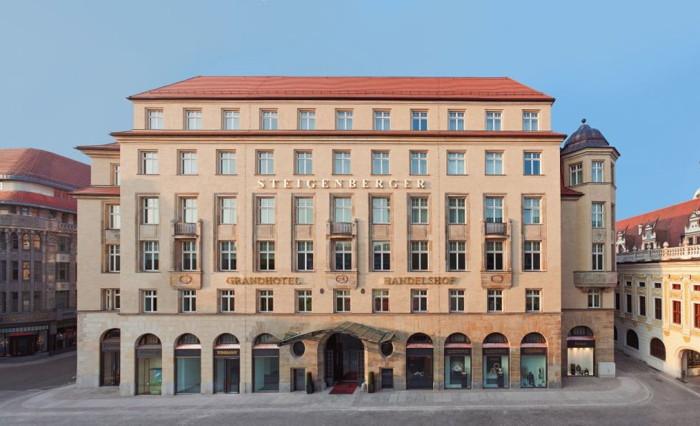 Steigenberger Grandhotel Handelshof Leipzig - Exterior
