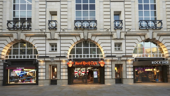 Hard Rock Cafe Piccadilly Circus - Exterior