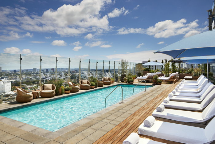 1 West Hollywood Hotel - Pool