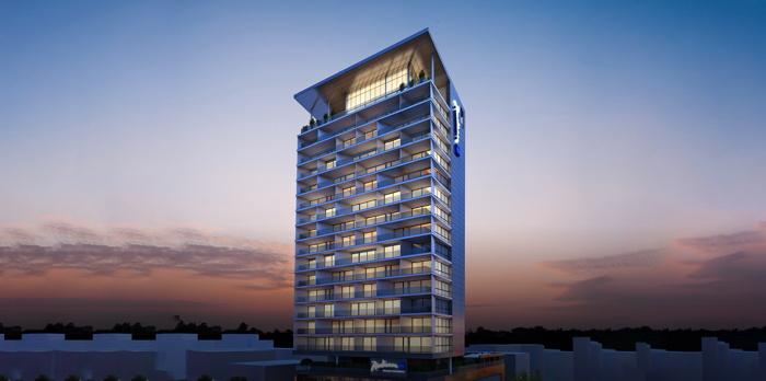 Rendering of the Radisson Blu Serviced Apartments, Larnaca