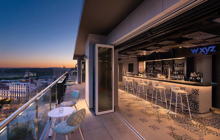 Aloft Madrid Gran Via Hotel - Bar