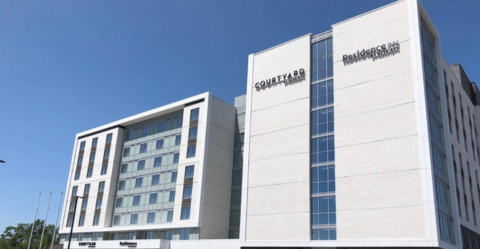 Dual Branded Courtyard and Residence Inn in Dartmouth, Nova Scotia - Exterior
