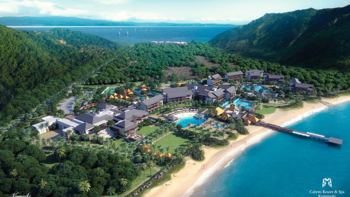 Cabrits Resort & Spa Kempinski Dominica - Aerial view