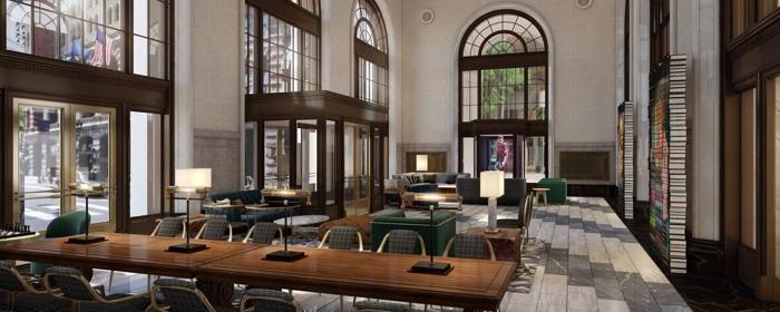 The Notary Hotel - Lobby