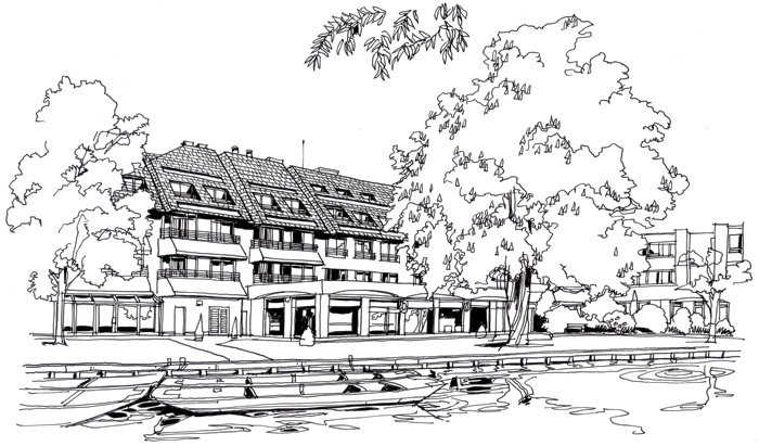 Rendering of the Graduate Cambridge Hotel